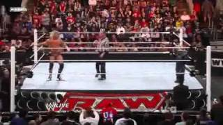 WWE RAW 04/11/11 Gauntlet Match PT1