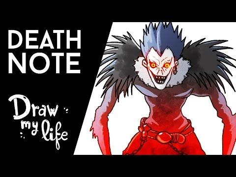 La HISTORIA de DEATH NOTE - Movie Draw
