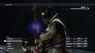 Lost Odyssey Obsidian Miasma Boss Battle HD Part 1