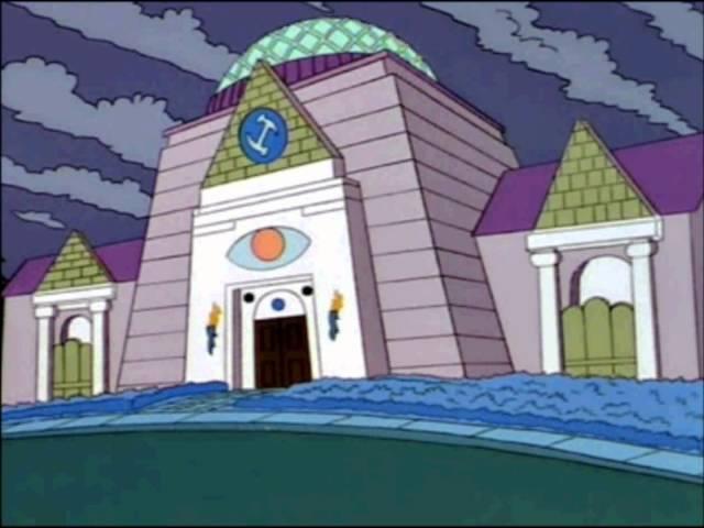 The Simpsons illuminati