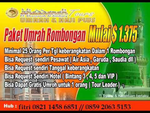 Harga tour and travel umroh murah