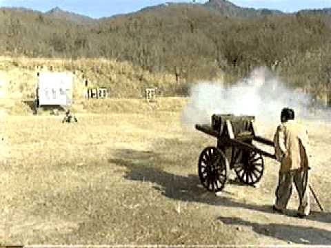 Tongjeon - Improved Hwacha firing bullets