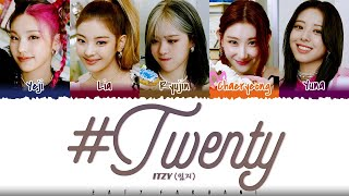 Download lagu ITZY - '#TWENTY' Lyrics [Color Coded_Han_Rom_Eng]