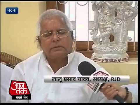 Nitish Kumar is an opportunist: Lalu Prasad Yadav