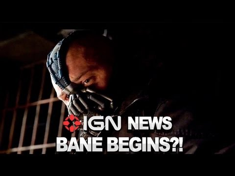 IGN News - Bane's Origin Sequence Cut from Dark Knight Rises