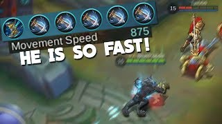 World Record Movement Speed With Roger! Mobile Legends
