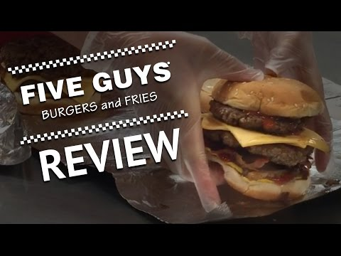 Five Guys Burgers and Fries Honest Review  |  HellthyJunkFood