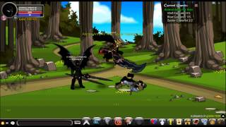 Kingkiller2013 - AQW Fastest way to get gold (62.5k) in 2 minutes.  /join grams
