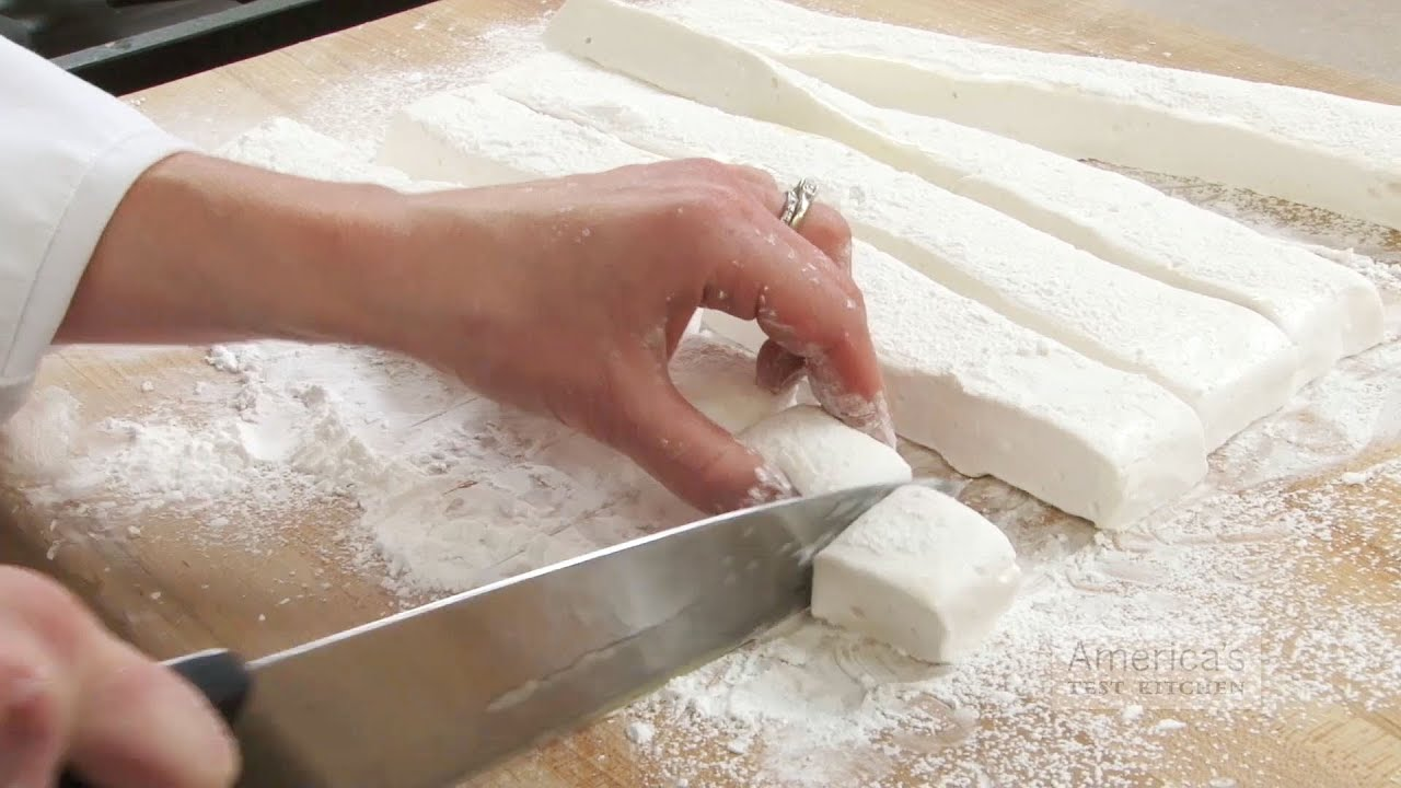 America's Test Kitchen DIY Marshmallows - YouTube