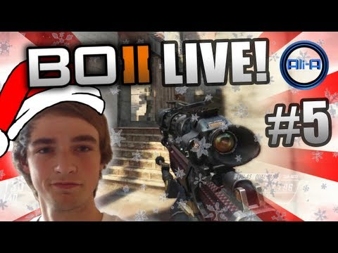 """CHRISTMAS SPECIAL"" - BO2 LIVE w/ Ali-A #5 - Black Ops 2 Multiplayer Gameplay"