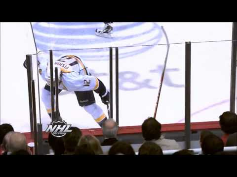 Top 10 NHL Hits (2012) HD