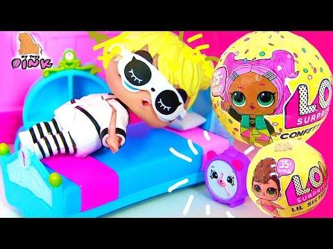 УТРО МАЛЕНЬКОЙ ДЕВОЧКИ! КОНКУРС! SCHOOL MORNING ROUTINE  FOR A TODDLER! Toy Video for Kids