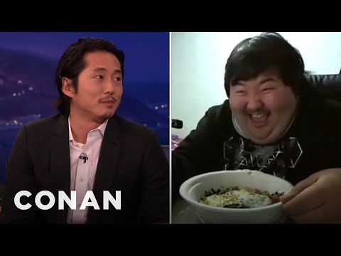 Steven Yeun Is Obsessed With Korean Peter Griffin  - Conan On Tbs video