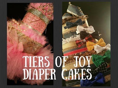 Average Black Girl Reviews Tiers of Joy Diaper Cakes