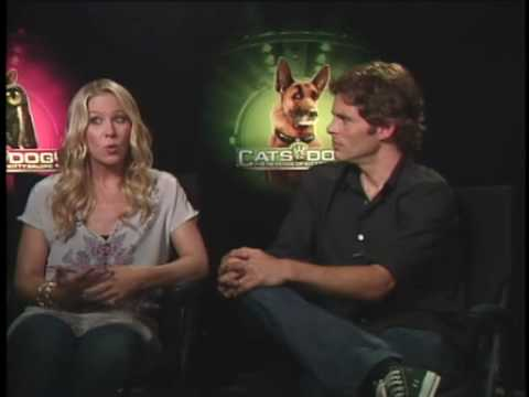 Christina Applegate and James Marsden Interview Cats &amp; Dogs: The Revenge of Kitty Galore