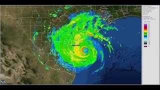 Hurricane Harvey Big Radar Loop