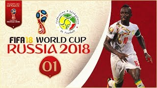 FIFA 18 World Cup - SENEGAL AT RUSSIA 2018 - GROUP STAGE!! [Legendary With Sliders]