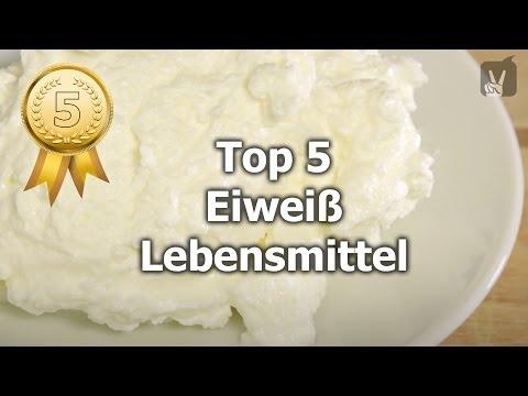 Eiweiß Lebensmittel: Die Top 5 Für Eine Gesunde Ernährung!