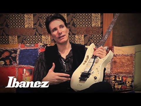 Steve Vai Introduces The Ibanez Jem-evo video