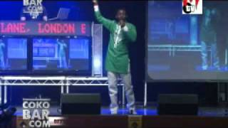 Ay Taking On Nigerian Police At Ay Live In London