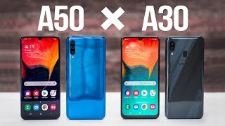So sánh Samsung Galaxy A30 vs A50: Nên chọn mua máy nào?!