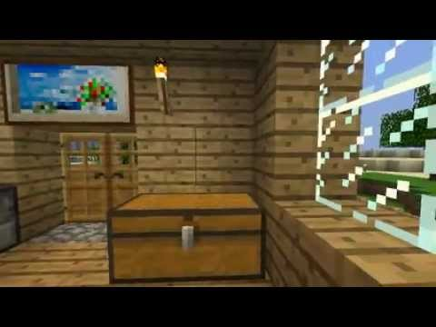 My Lovely House In Minecraft + Sex On The Bedroom! video