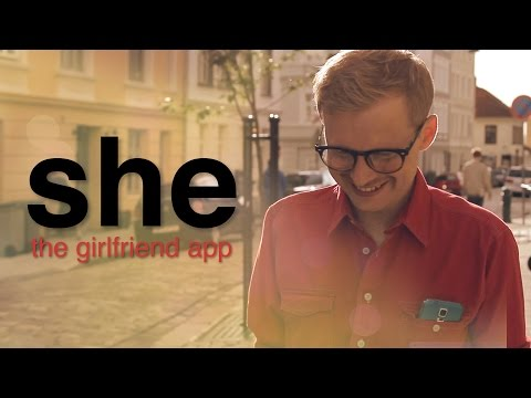She: The Girlfriend App - Win Samsung Galaxy S5 video