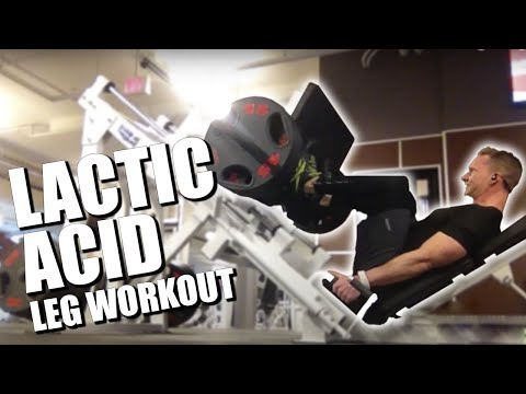Fat To Lean Muscle: Lactic Acid Workout