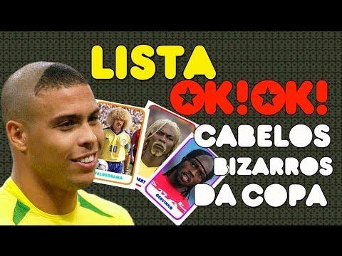 Top 7 Cabelos Mais Bizarros Da Copa Eveeeeeeeer video