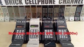 Motorola MicroTAC DPC 950 / 9800x flip phone from 1990