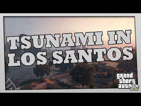 GTA 5 - TSUNAMI in LOS SANTOS MOD + Statement zur aktuellen Situation | Gespräch w/ Rockstargames