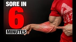 Ripped Forearms Workout (SORE IN 6 MINUTES!!)