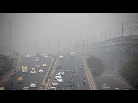 New Delhi smog surpasses hazardous levels
