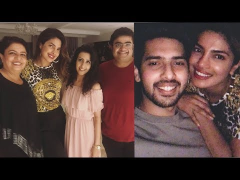 Priyanka Chopra celebrates her brother Siddharth Chopra birthday with family and frends thumbnail