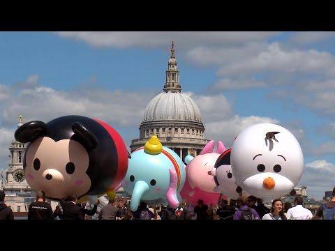 Disney Tsum Tsum craze hits London!