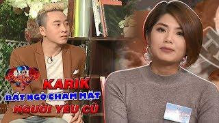 Đàm Phương Linh nói thẳng trước mặt Karik là không muốn làm bạn với người yêu cũ 😜