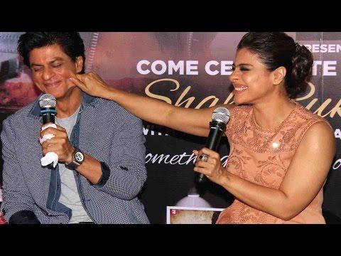 When Kajol REALLY EMBARRASSED Shahrukh Khan   UNCUT VIDEO thumbnail