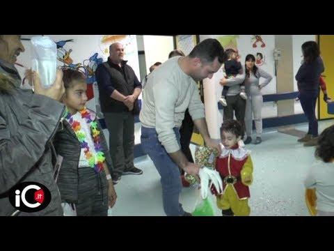 Pediatria Corigliano, l'Interact regala giornata di festa ai piccoli degenti thumbnail