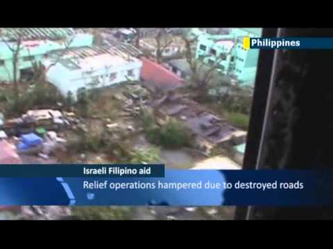 Israel offers typhoon aid to Philippines: Asian nation left utterly devastated by Typhoon Haiyan