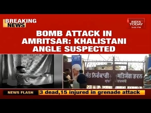 Amritsar Attack : Khalistani Groups Behind Amritsar Attack?