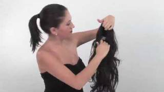 Instant Ponytail Hairstyle | How To using Foxy by easihair