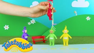 Teletubbies: Teletubbies And The Floating Balloons   Toy Play Video   Play games with Teletubbies