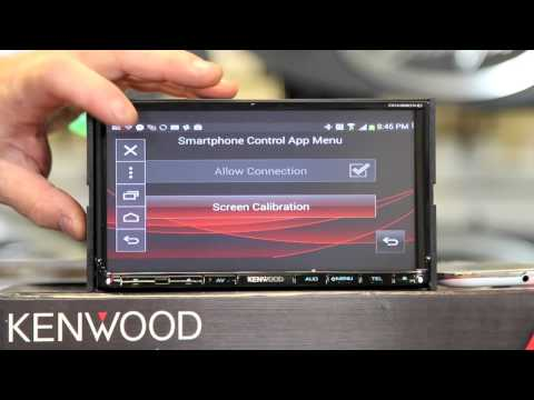 kenwood android app mode total phone control