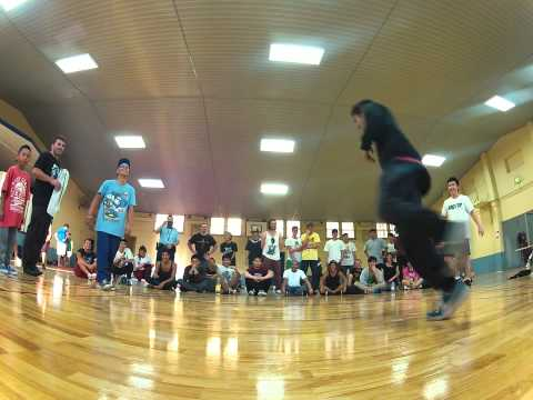 Round1 - SKB vs FLAVAWAVE - Sydney Bboy League 2