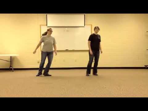 video line dance instruction