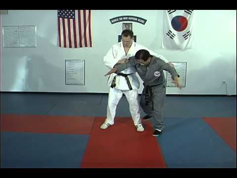 Hapkido Behind Double Elbow Grab Techniques 1 thru 6 Image 1