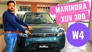 2019 Mahindra XUV300 W4 Variant In-Depth review | XUV 300 W4 model |CarQuest | Hindi