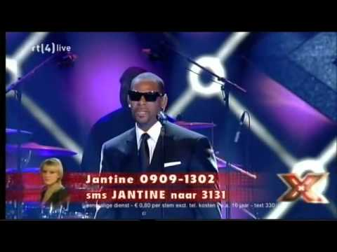 R  Kelly   When A Woman Loves Live  X Factor In The Netherlands]   Youtube video