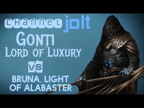 Jolt - Commander - Gonti, Lord of Luxury vs Bruna, Light of Alabaster