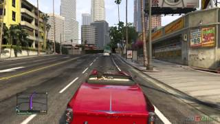 GTA V PS3 Gameplay / Walkthrough / Playthrough / 1080P Part 5 - Grass Roots - Michael